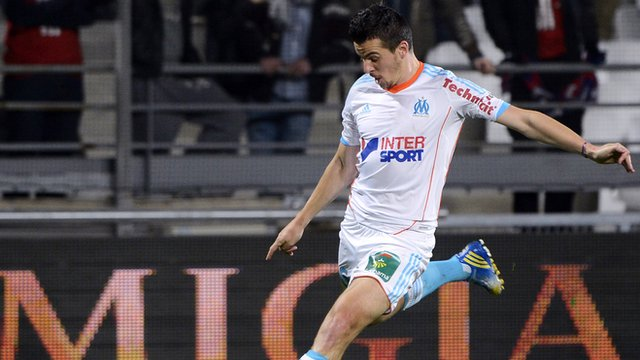Joey Barton in action
