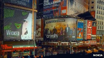 Nokia 3D graphic