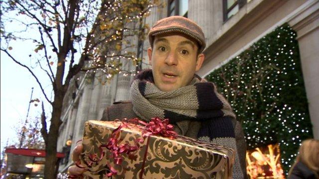 Martin Lewis Christmas shopping