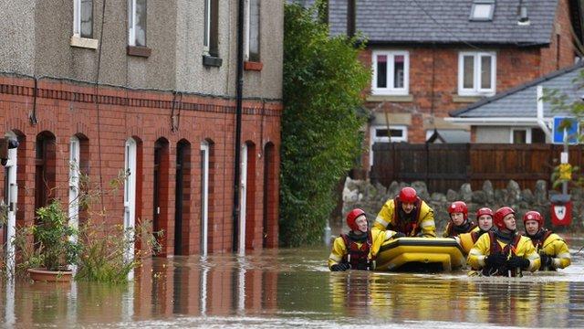 Floods in St Asaph