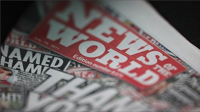Copy of the News of the World