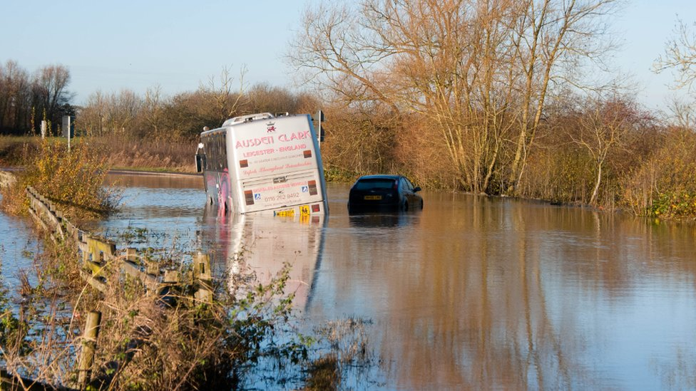bbc news in pictures flooding in east midlands. Black Bedroom Furniture Sets. Home Design Ideas