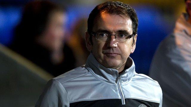 Hibernian manager Pat Fenlon
