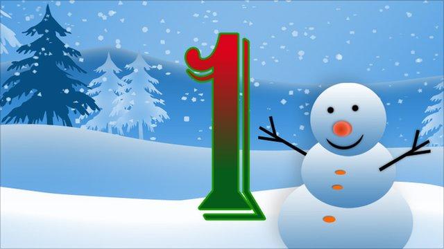BBC Sport's advent calendar - 1st December