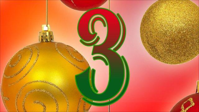 BBC Sport's advent calendar - 3rd December