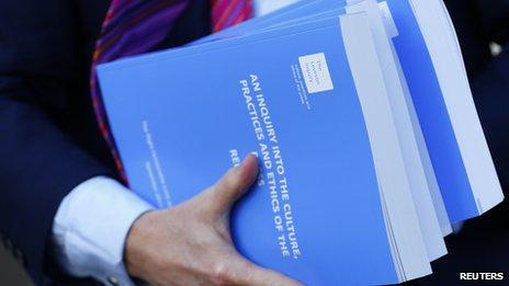 Inquiry report