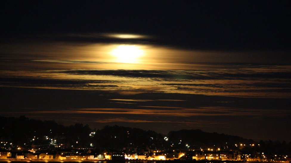 Moonlight over Broughty Ferry