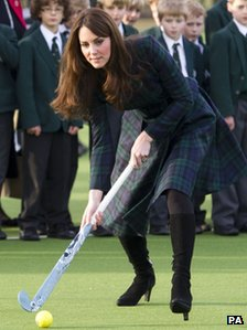 Duchess of Cambridge on 30 November 2012