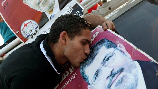 Mohammed Mursi supporter