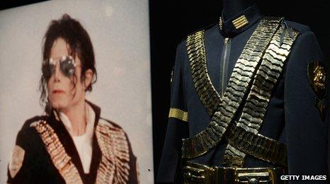 Michael Jackson Dangerous tour jacket