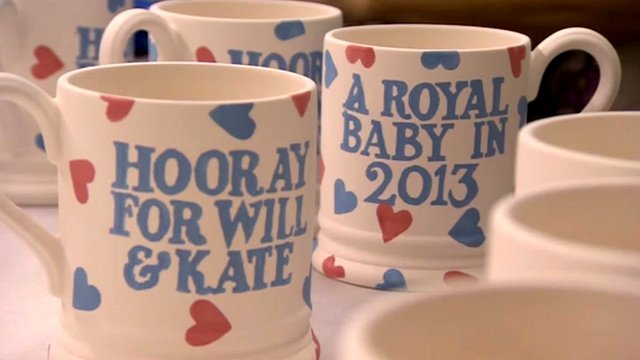 Royal baby Emma Bridgewater mugs