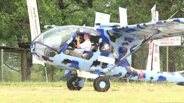 The surveillance plane