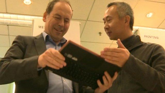 Rory Cellan-Jones talks to Lenovo's chief designer Yao Yingja