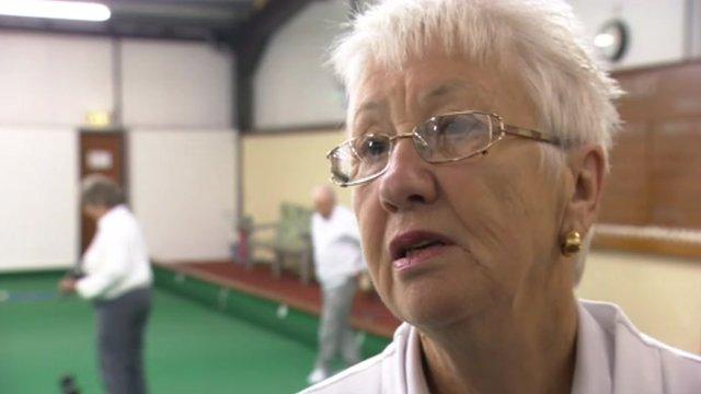 A pensioner in Birmingham