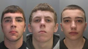 Keiron McGuinness, Tyrone Davies a Jack Causer