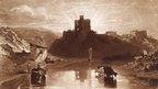 J.M.W. Turner, R.A. Norham Castle on the Tweed 1 January 1816 Etching and mezzotint