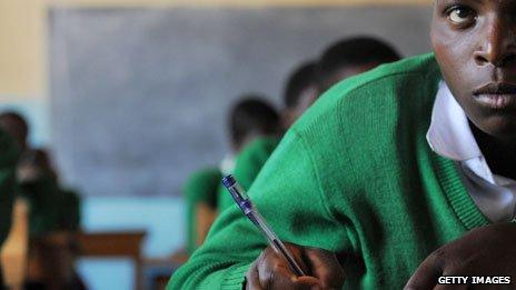Classroom in Tanzania
