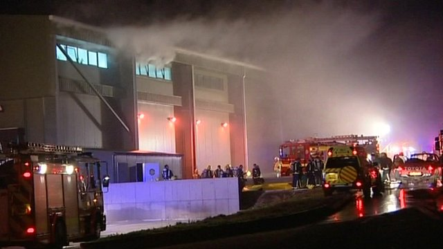 Atherstone-on-Stour fire