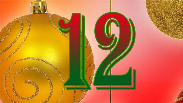 BBC Sport's advent calendar - 12 December