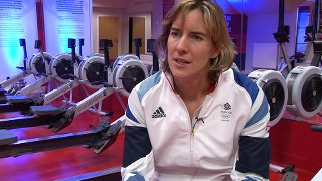 Double sculls Olympic Gold medallist Katherine Grainger