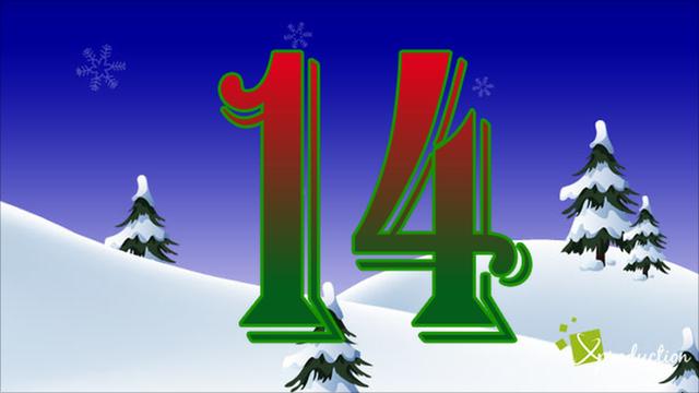 BBC Sport's advent calendar - 14 December