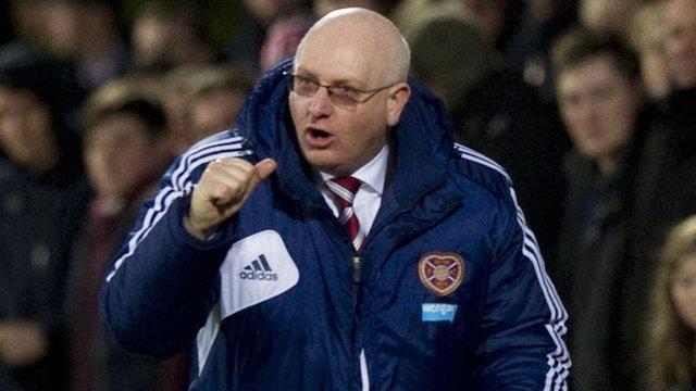 Heart of Midlothian boss John McGlynn