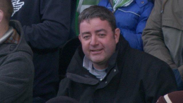 Celtic fan Marc Donoghey