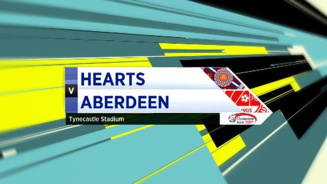 Highlights - Hearts 2-0 Aberdeen