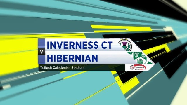 Highlights - Inverness CT 3-0 Hibernian