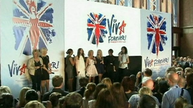 The Spice Girls at the launch of Viva Forever!