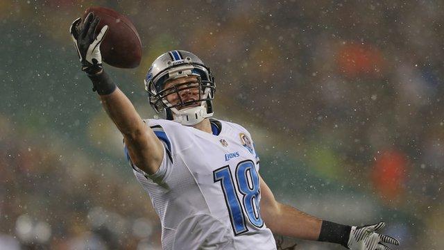 Detroit Lion's wide receiver Kris Durham