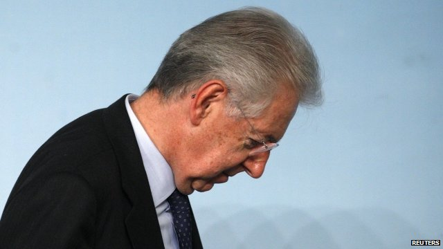 Mario Monti - file photo