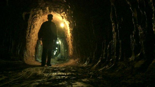 Tunnel into Gaza