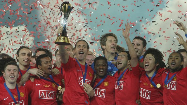Manchester United win 2008 Club World Cup