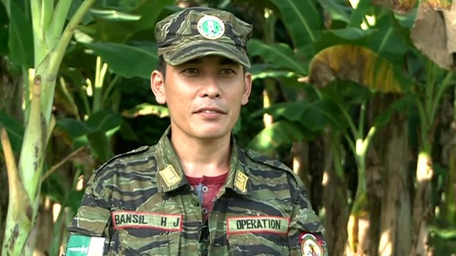 Habir Bansil is a rebel fighter for the Moro Islamic Liberation Front (MILF) in Mindanao.