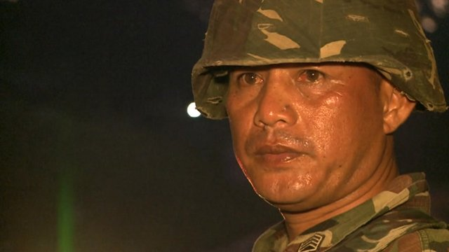 Aurelio Rakinton is a sergeant in the Philippine Army's 6th Infantry Division.
