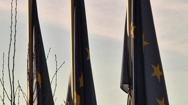 Eurozone flags