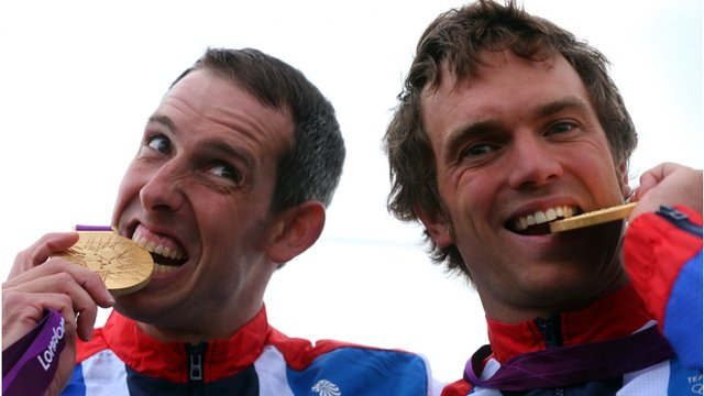 Etienne Stott and Tim Baille