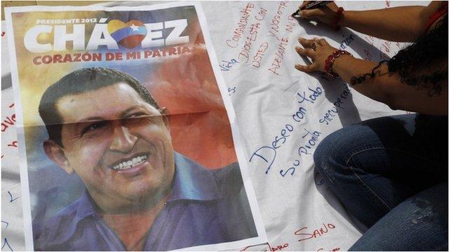 Chavez banner