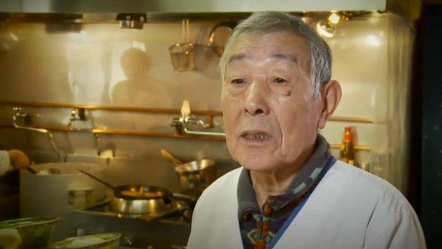 Restaurant owner Kunio Ueno