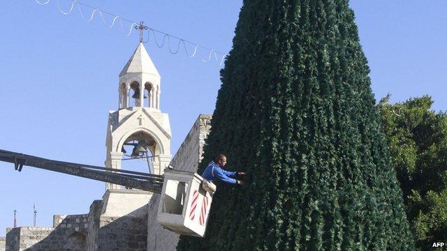Bethlehem Christmas tree