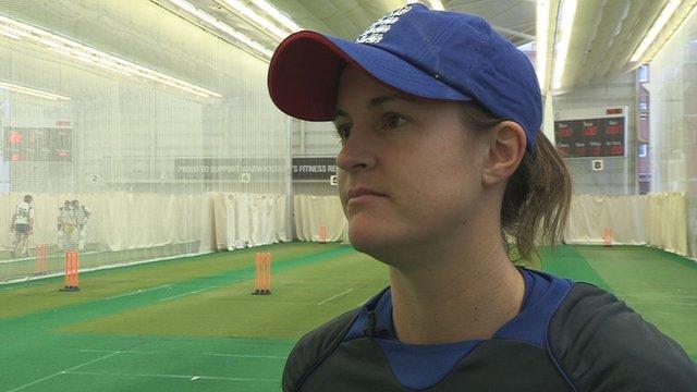 England's Lydia Greenway