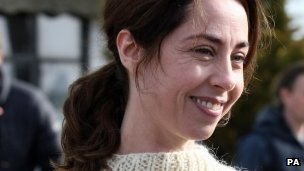 Sofie Grabol who plays Sarah Lund