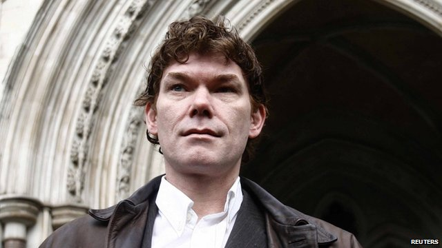 Gary McKinnon pictured in 2009