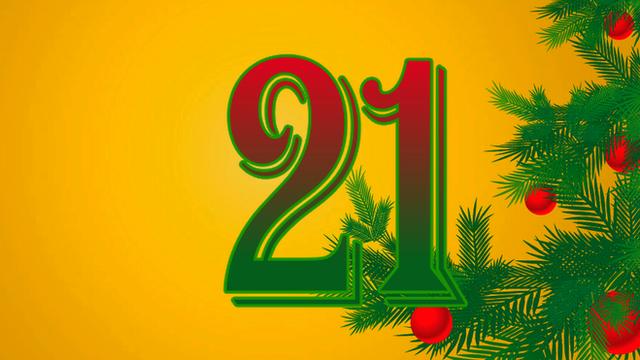 BBC Sport's advent calendar - 21 December