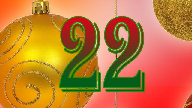 BBC Sport's advent calendar - 22 December