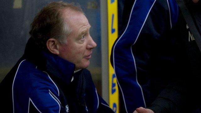 Kilmarnock assistant manager Jimmy Nichol