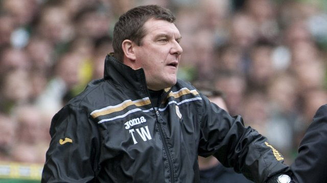 St Johnstone assistant coach Tommy Wright