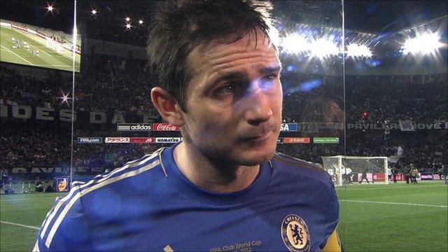 Chelsea captain Frank Lampard
