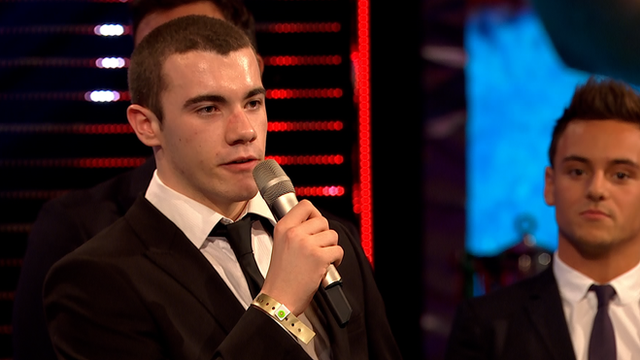 Young SPOTY winner Josef Craig
